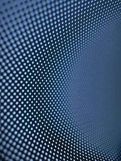 Curved Dot Pattern Wall Art
