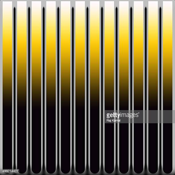 curved vertical lines creative abstract design - parallel stock illustrations, clip art, cartoons, & icons