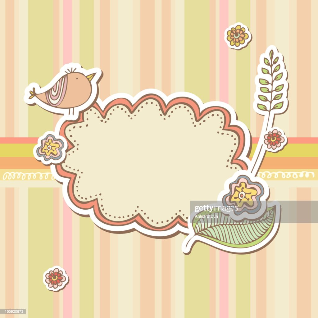 Cute Frames Vector Art   Getty Images