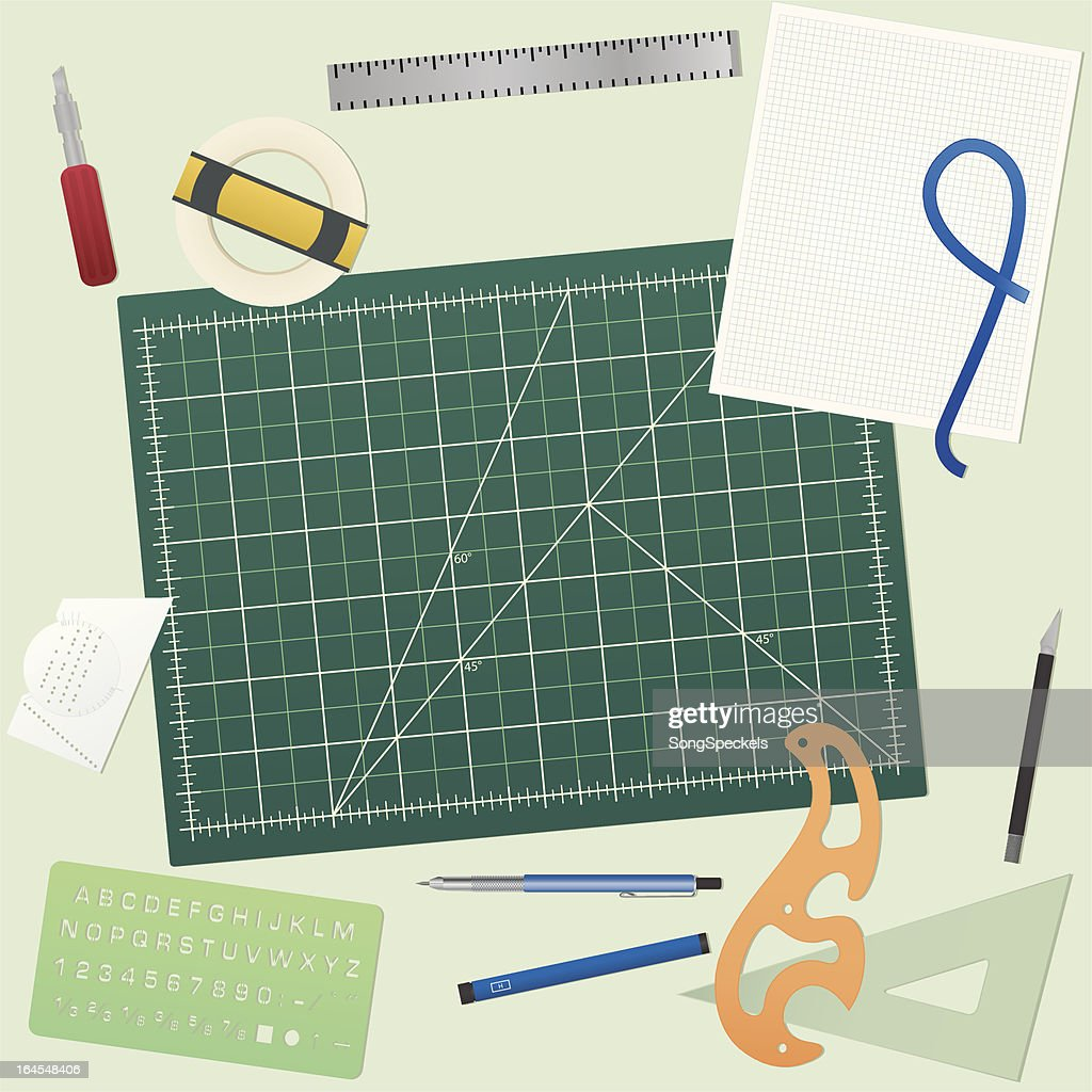 Cutting Mat and tools