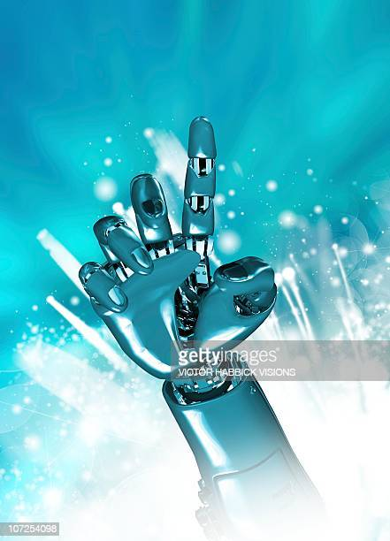 Cybernetic arm, artwork