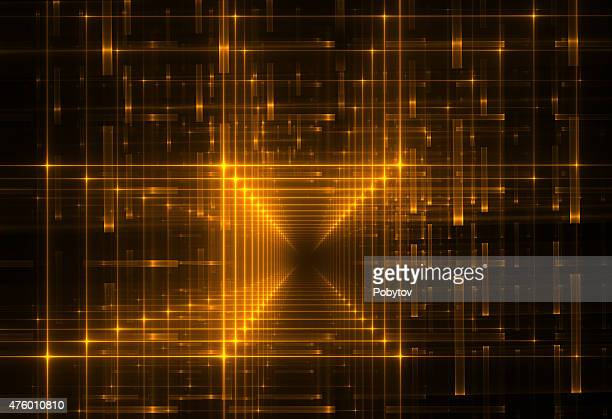 cyberspace - fractal stock illustrations, clip art, cartoons, & icons