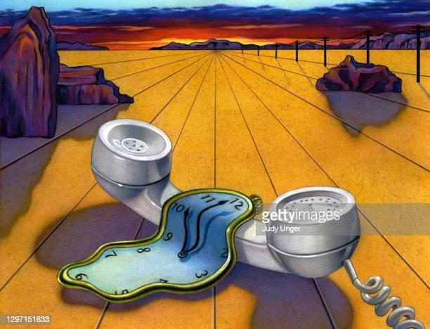 ダリランドスケープ - サルバドール・ダリ点のイラスト素材/クリップアート素材/マンガ素材/アイコン素材