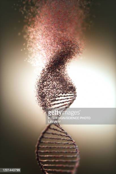 dna damage, illustration - artistic product stock illustrations