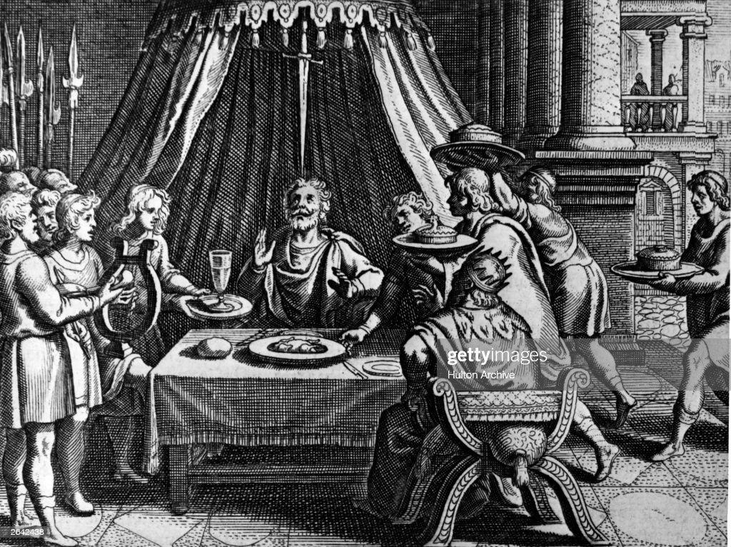 Sword Of Damocles : News Photo