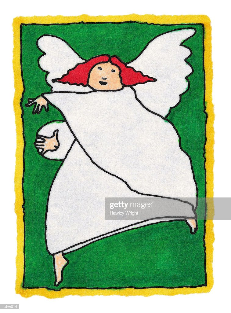 Dancing Angel : Stock Illustration