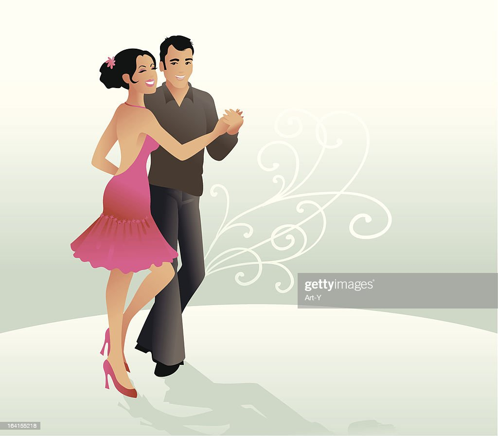 Dancing : stock illustration