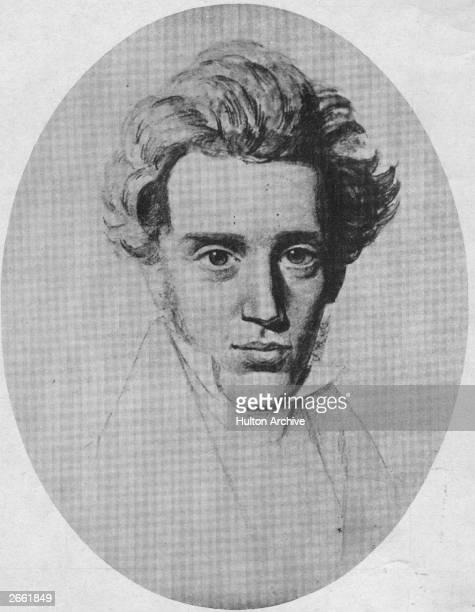 Danish philosopher Soren Aabye Kierkegaard , the founder of existentialism.