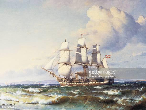 danish ship - nautical vessel stock illustrations