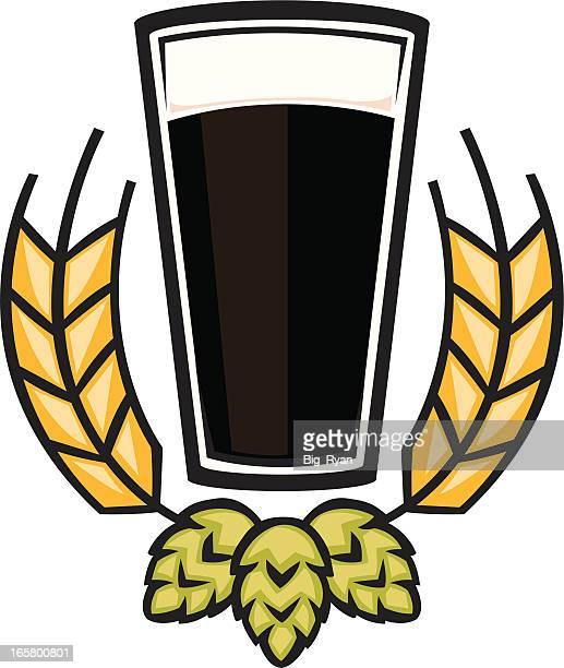 dark beer graphic
