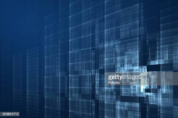 dark blue abstract modern background - science and technology stock illustrations