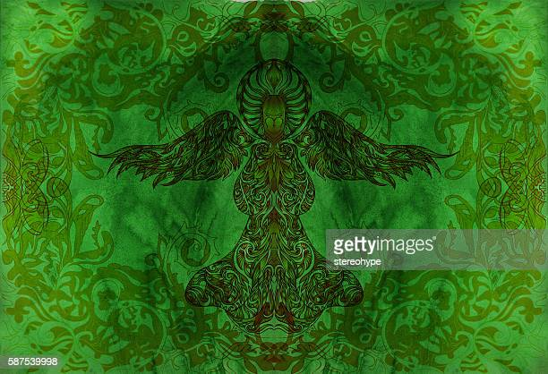 dark green angel