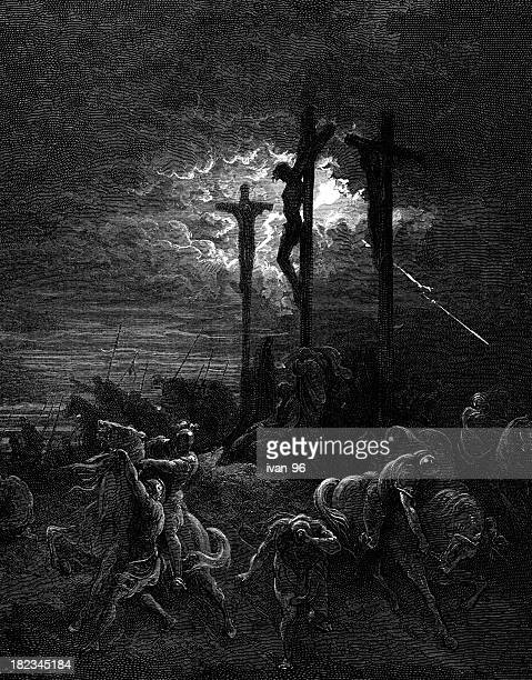 darkness - gustave dore stock illustrations, clip art, cartoons, & icons