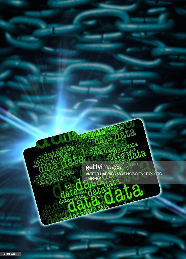 Data security, illustration : stock illustration