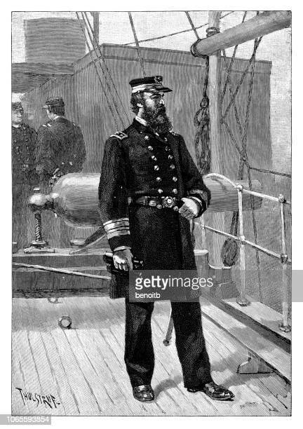 David Dixon Porter on warship