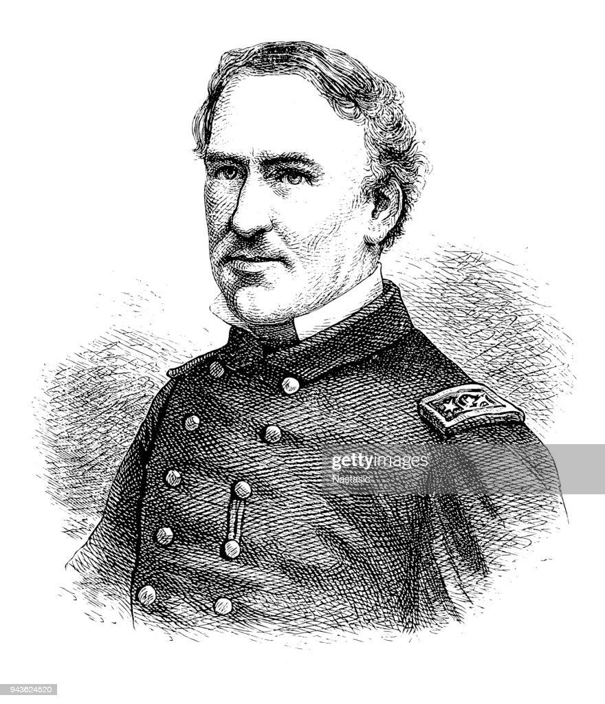 David Farragut, officer of the United States Navy : stock illustration