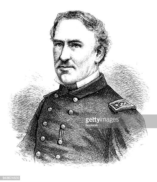 david farragut, officer of the united states navy - us navy stock illustrations, clip art, cartoons, & icons