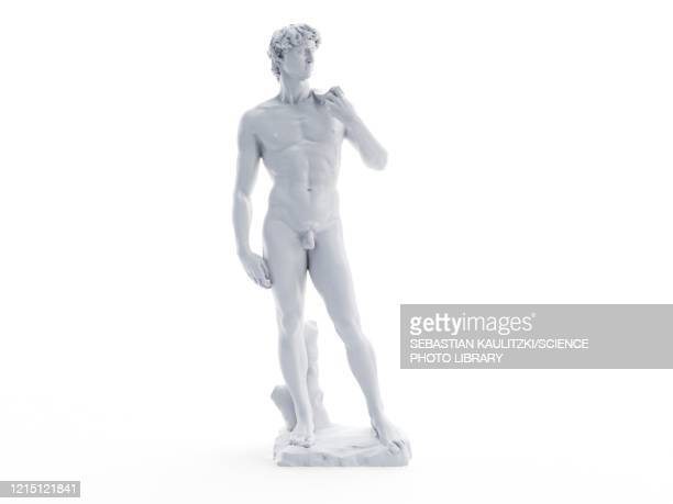 david statue, illustration - 像点のイラスト素材/クリップアート素材/マンガ素材/アイコン素材