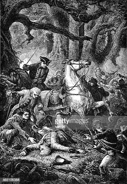 Death of general Braddock