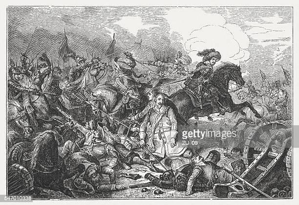 Death of Gustavus Adolphus in the Battle of Lützen, 1632