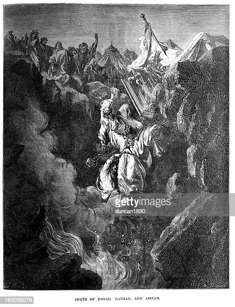 Legacy And Death Of Moses: Ark Of The Covenant Stock Illustrations And Cartoons