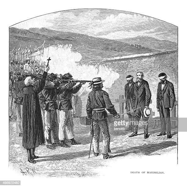 Death of Maximilian by firing squad