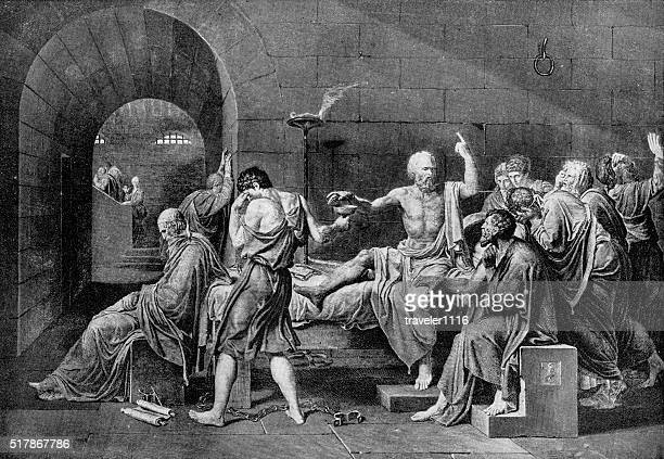 Death Of Socrates By Drinking Poison