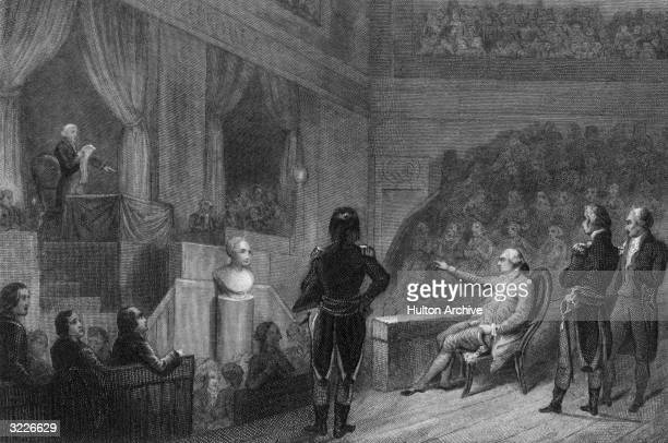 Louis XVI of France appeared twice before the National Convention on December 11 and 26, 1792. The convention voted from January 16-18, 1793 for the...