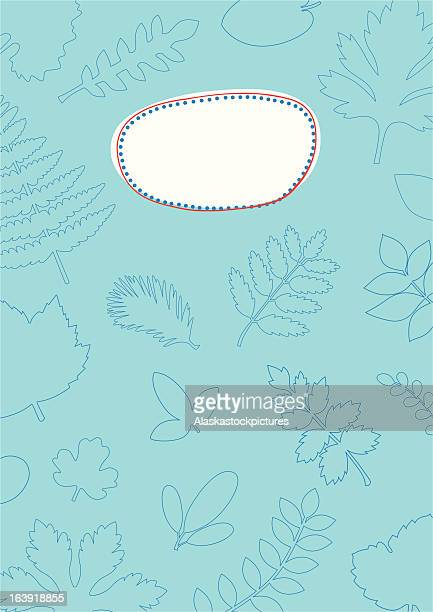 decorative cover with leafshapes. - labeling stock illustrations, clip art, cartoons, & icons