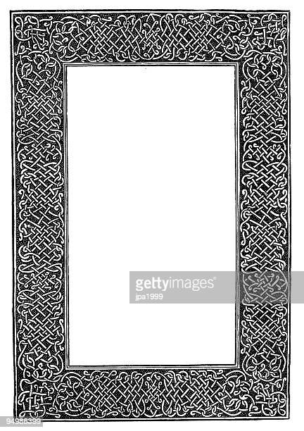 decorative frame from 16th century - 16th century style stock illustrations, clip art, cartoons, & icons