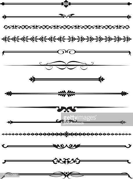 Decorative lines four