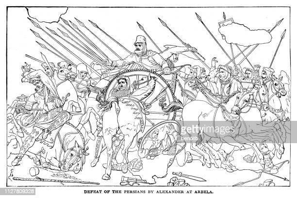 Defeat of the Persians by Alexander at Arbela