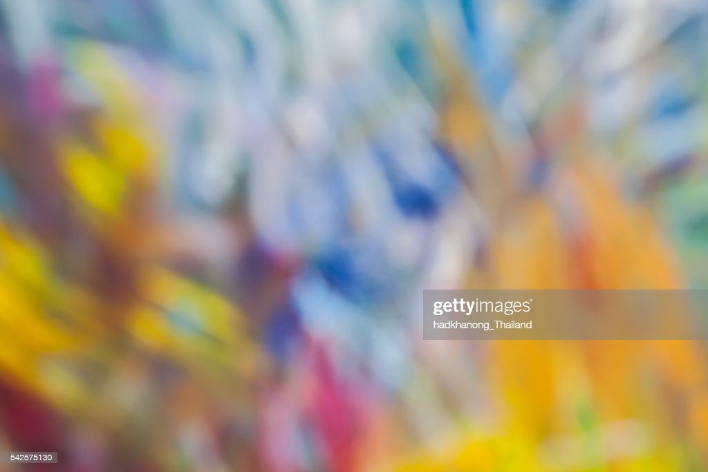 Defocus Texture And Color On Canvas stock illustration