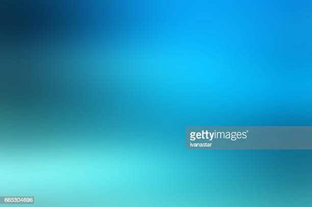Defocused Blurred Motion Abstract Background Blue Green