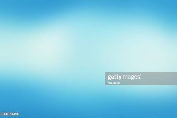 Defocused Blurred Motion Abstract Background Blue