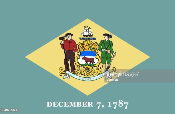 Delaware State flat flag