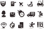 Delivery and transport Icons