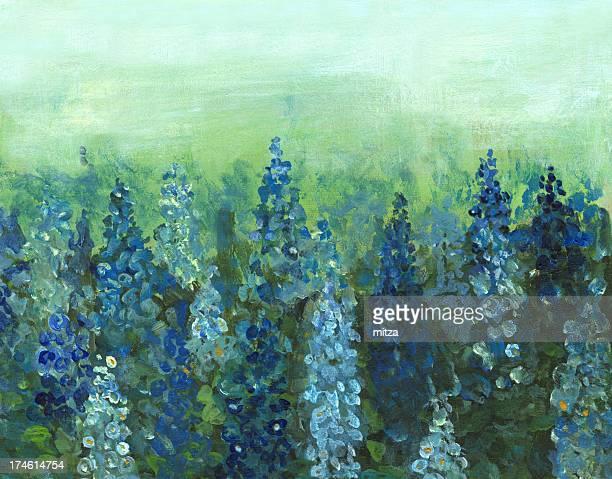 Delphinium  Flower Bed