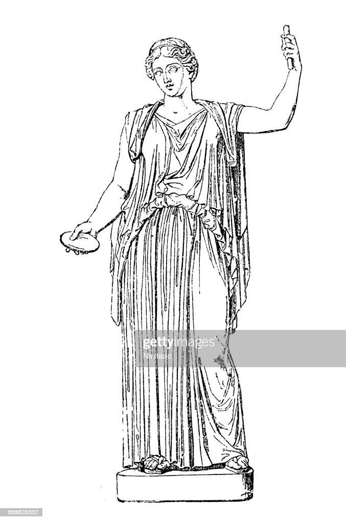 Demeter Greek Goddess Stock Illustration Getty Images