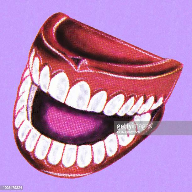 dentures - laughing stock illustrations