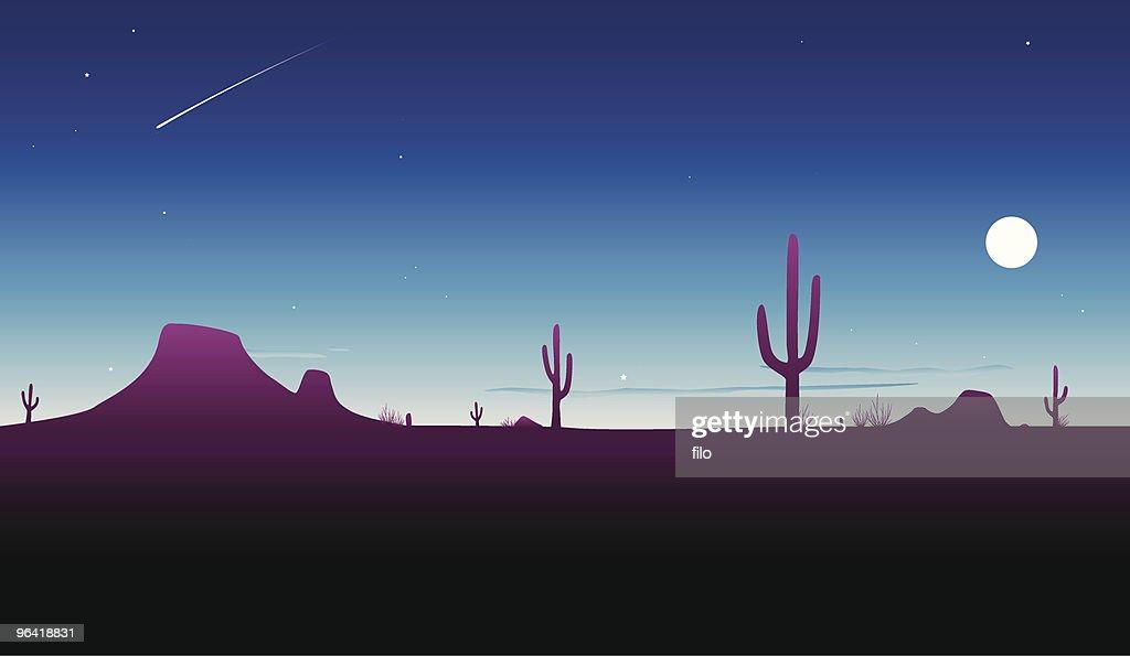 Desert Twilight [vector]