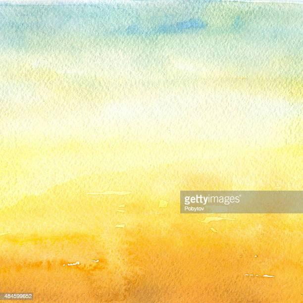 Desert - Watercolor Background