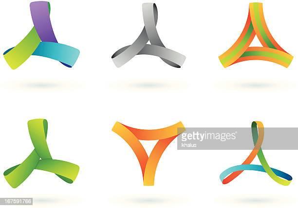 Elementos de diseño/triángulo de borde infinito