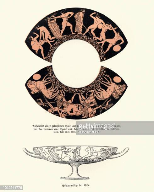 Design of an ancient greek vase
