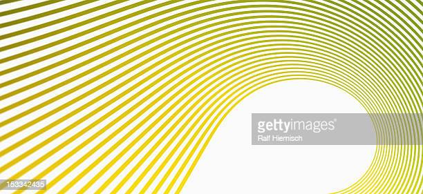 detail of curved lines against a white background - colour gradient stock illustrations