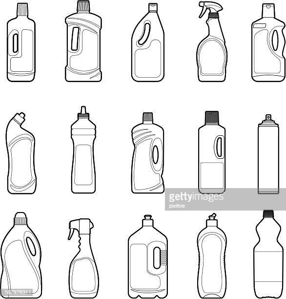 Detergent Bottles set