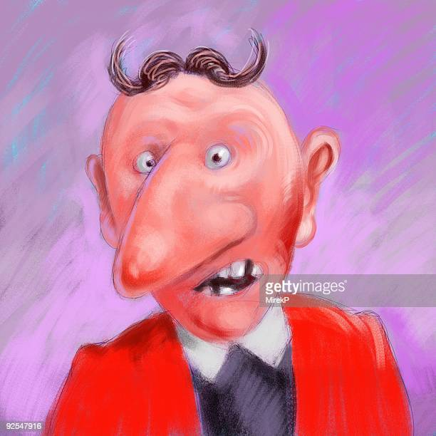 devil face businessman - x rated stock illustrations, clip art, cartoons, & icons