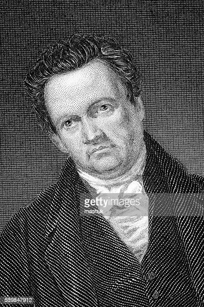 dewitt clinton governor of new york - governor stock illustrations, clip art, cartoons, & icons