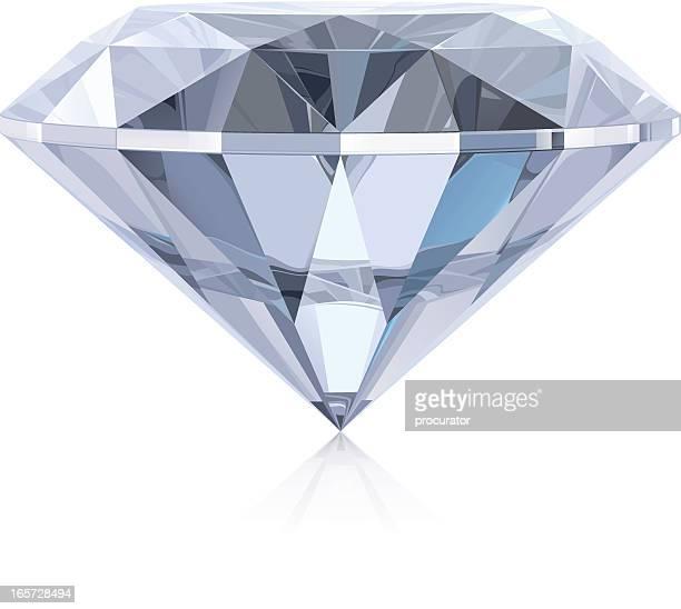 diamond - nahaufnahme stock-grafiken, -clipart, -cartoons und -symbole