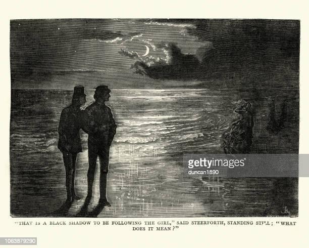 Charles Dickens, David Copperfield, qui est une ombre noire